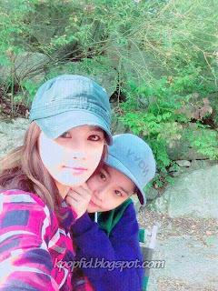 Foto Jeon Boram T-ara dengan Adiknya Jeon Wooram