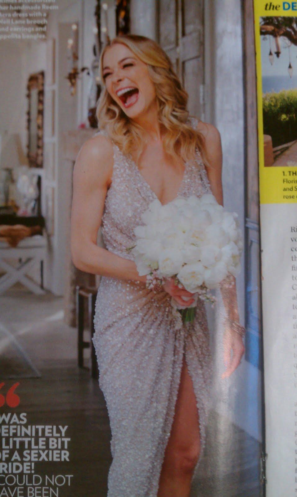 the serendipitist LeAnn Rimess Wedding Gown