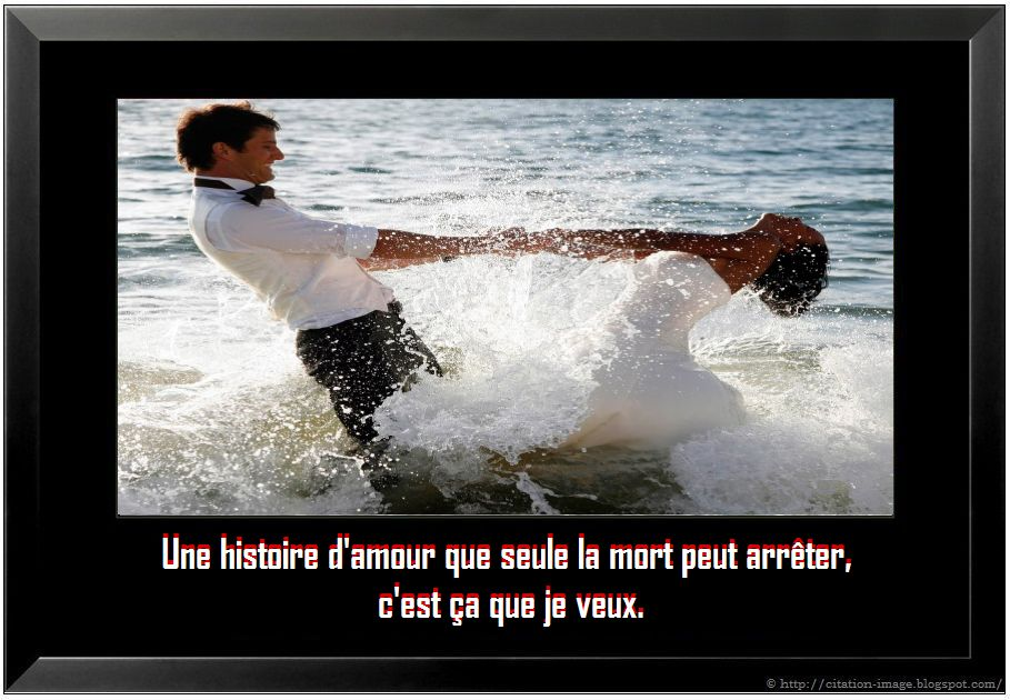 """belle citation d'amour en image pour les amoureux: """" Une histoire d ..."""