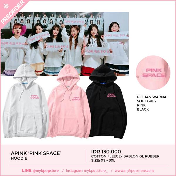 Apink Pink Space Hoodie