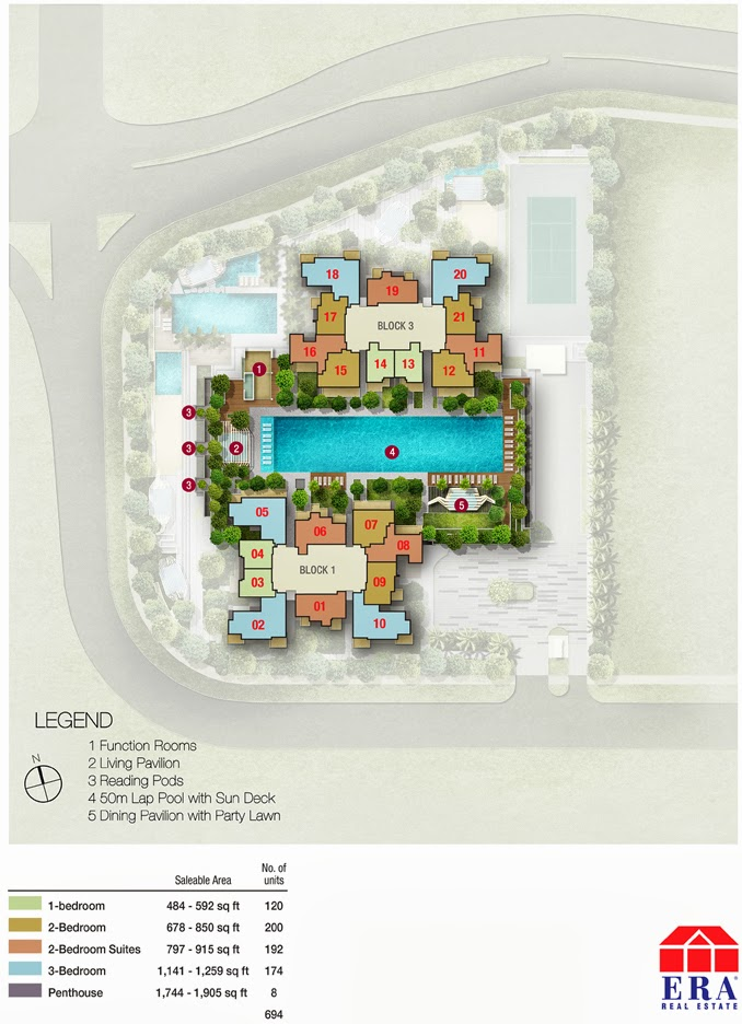 Sky Vue Bishan - 7th Floor Siteplan