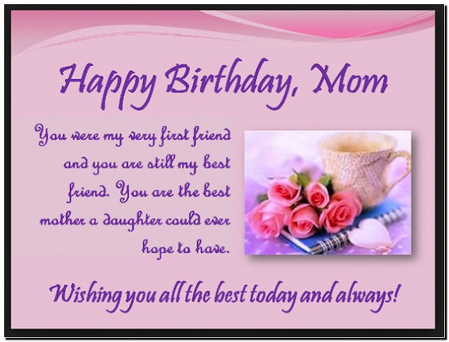 Happy Birthday Mom HD Wallpapers Free Download