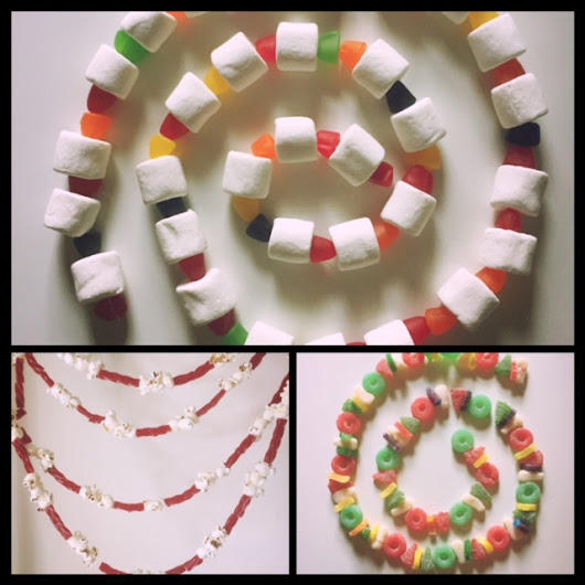 Christmas Candy Garlands