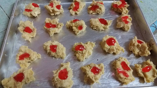 Red Pearl Cookies Recipe