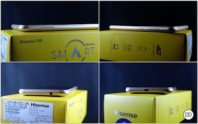 Review Lengkap Hisense Pureshot Lite port dan tombol