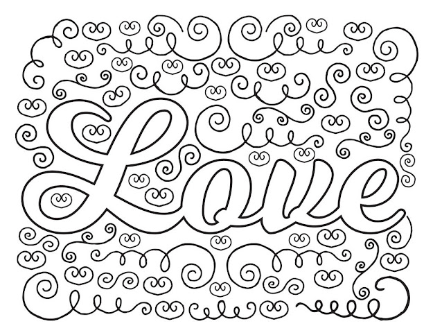 Trendy Live Laugh Love Coloring Pages By Love Coloring Pages On