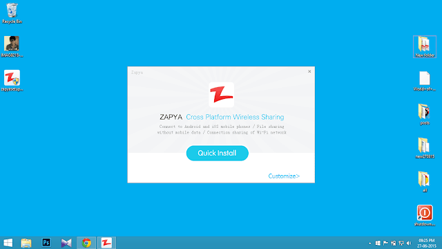 Download zapya for pc free directly