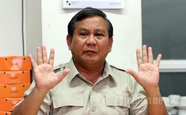 Ahok Segera Diadili Ini Reaksi Prabowo