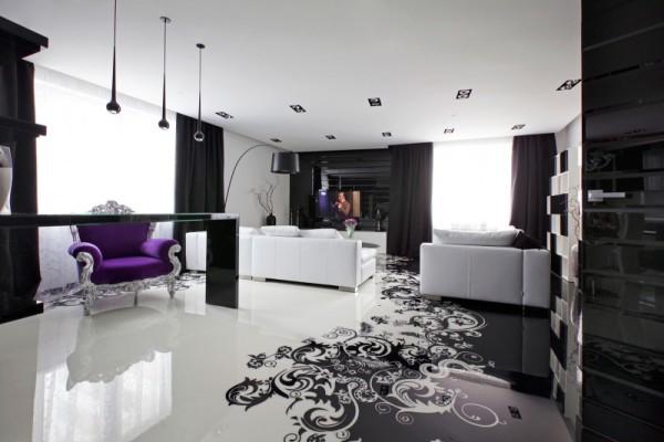 Living Room Epoxy Floor