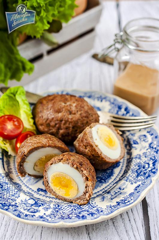 Jajka po szkocku przepis