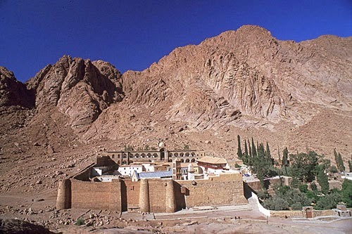 Orthodox Way of Life: St  Catherine's Monastery at Mount