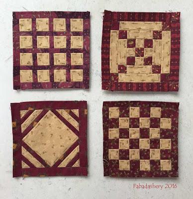 Dear Jane Quilt - Draw 52 - B4, E9, K2, K3