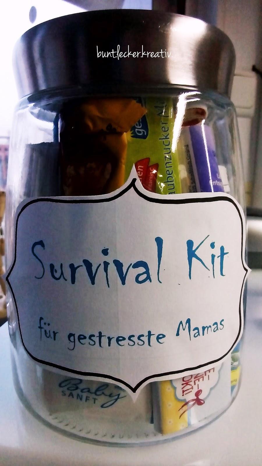 Geschenk für eine frischgebackene Mama...   bunt.lecker.kreativ