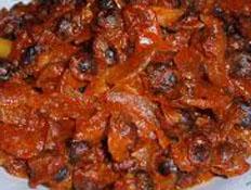 Resep praktis (mudah) sambal kerang spesial (istimewa) enak, sedap, gurih, nikmat lezat