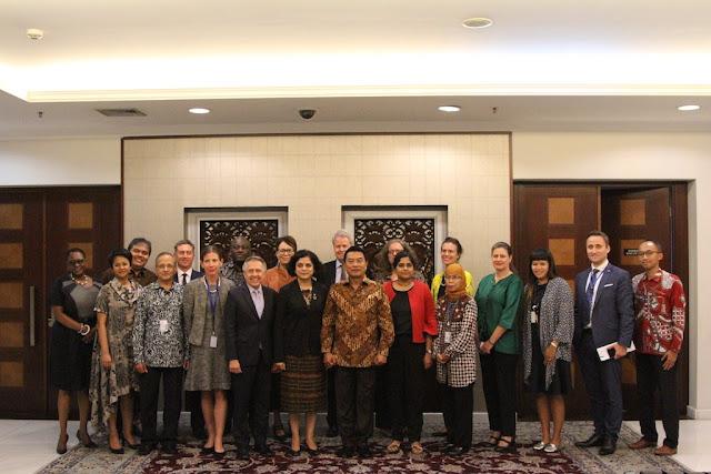 Lembaga-lembaga PBB Puji Komitmen Indonesia Jalankan SDGs