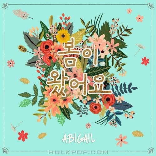 ABIGAIL – 봄이 왔어요 – Single