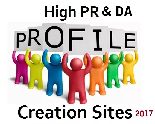 Profile Creation Sites List 2017 for SEO