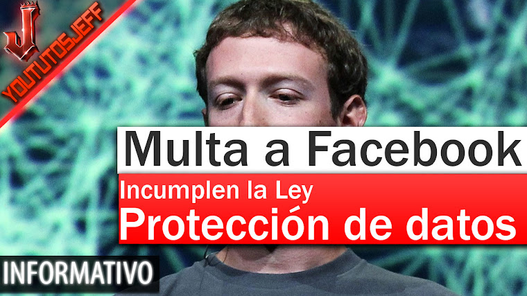 Multan a Facebook por incumplir la ley de protección de datos