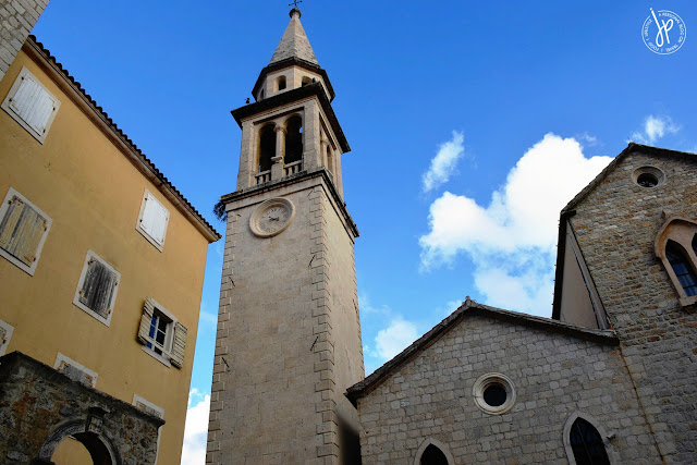 St. Ivan / St. John Church in old town Budva