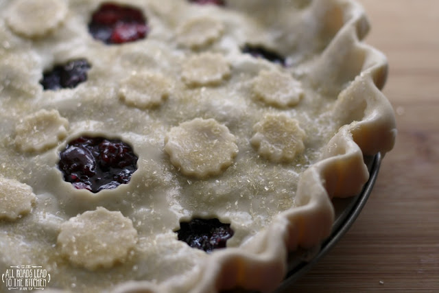 unbaked triple cherry pie