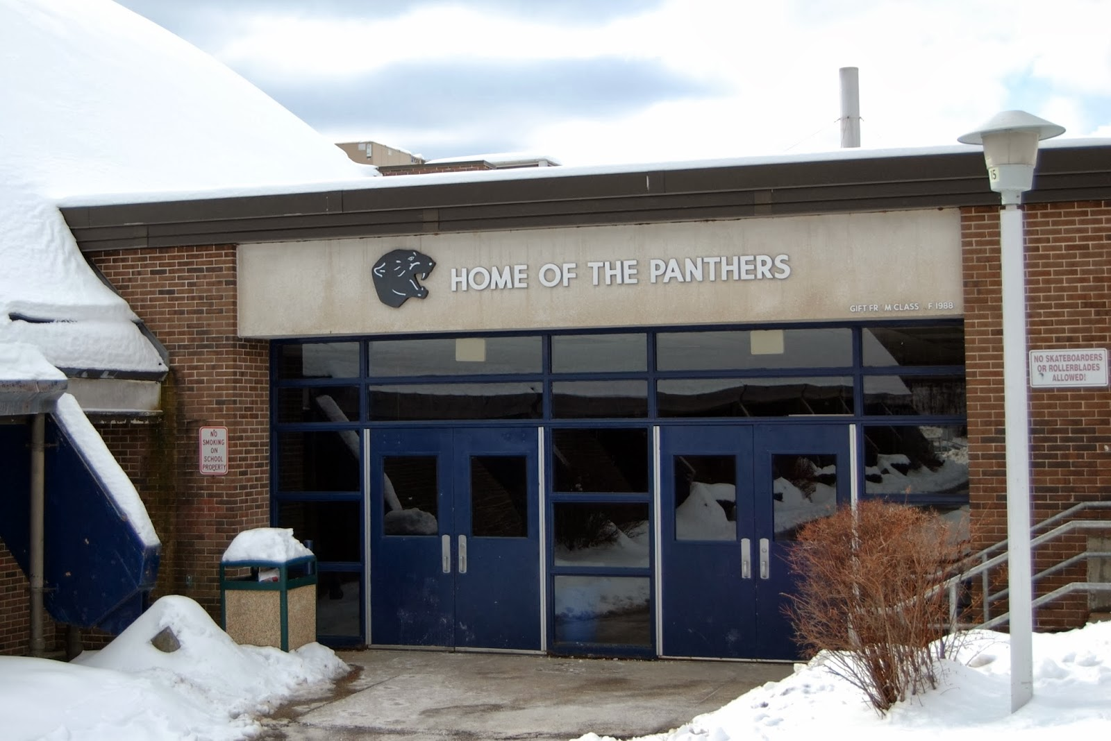 Franklin High School, home of the Panthers