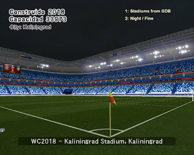 PES 6 Stadiums Kaliningrad Stadium ( World Cup 2018 )