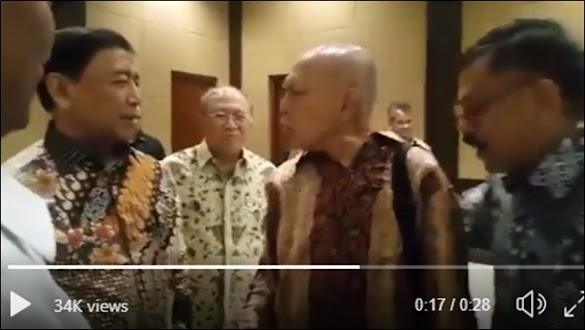 Berhadap-hadapan, Ini Video Kivlan Zein 'Ngegas' ke Wiranto soal Kerusuhan 98