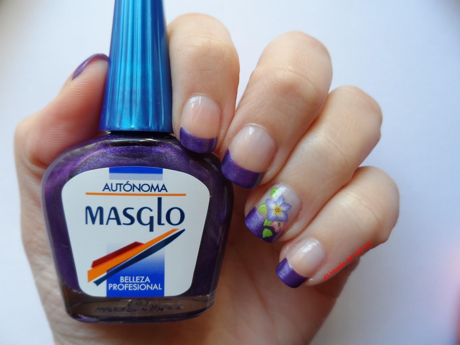 El mundo del nail art manicura francesa aut noma - Manicura francesa colores ...