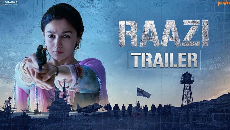 Raazi 2018 Hindi PreDVD x264 Movie Poster