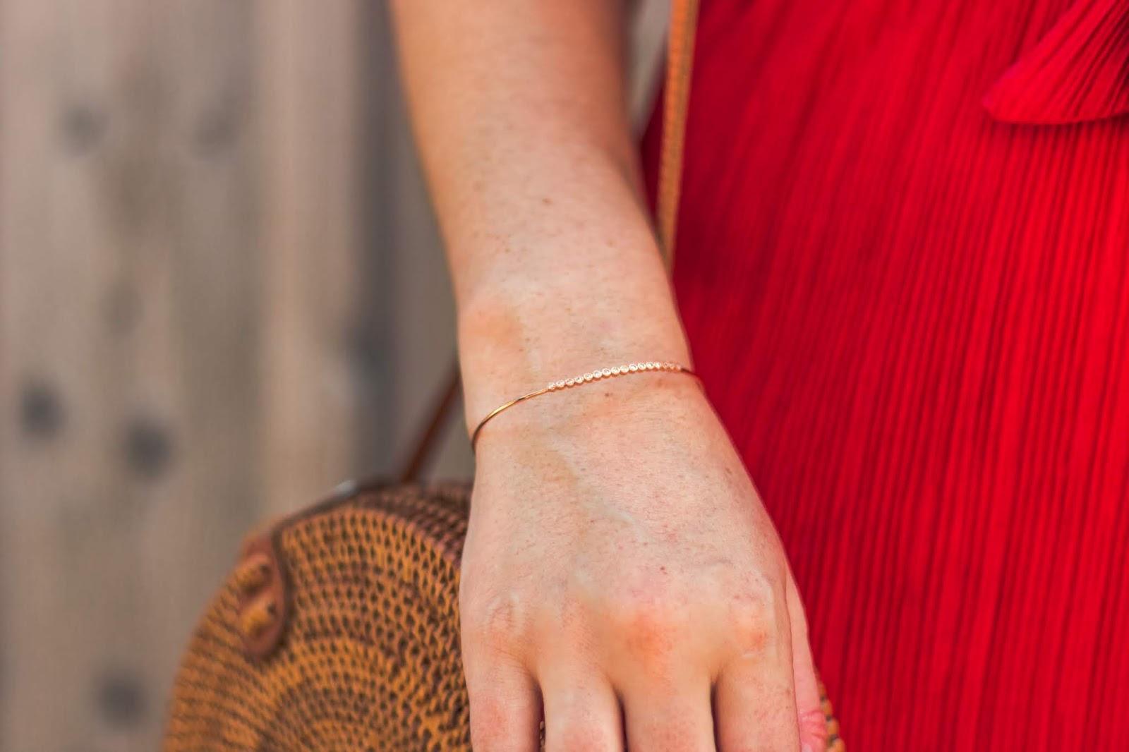 "bracelet jonc rose gold histoire d""or"