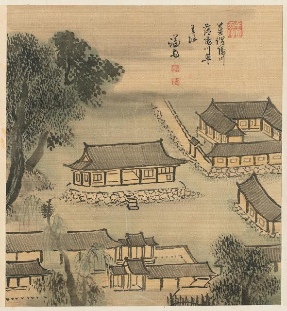 겸재(謙齋) 정선(鄭敾, 1676~1759) 경교명승첩(京郊名勝帖) 양천현아