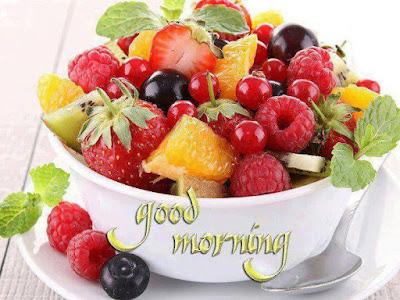 Fruits Salad Good morning wallpaper