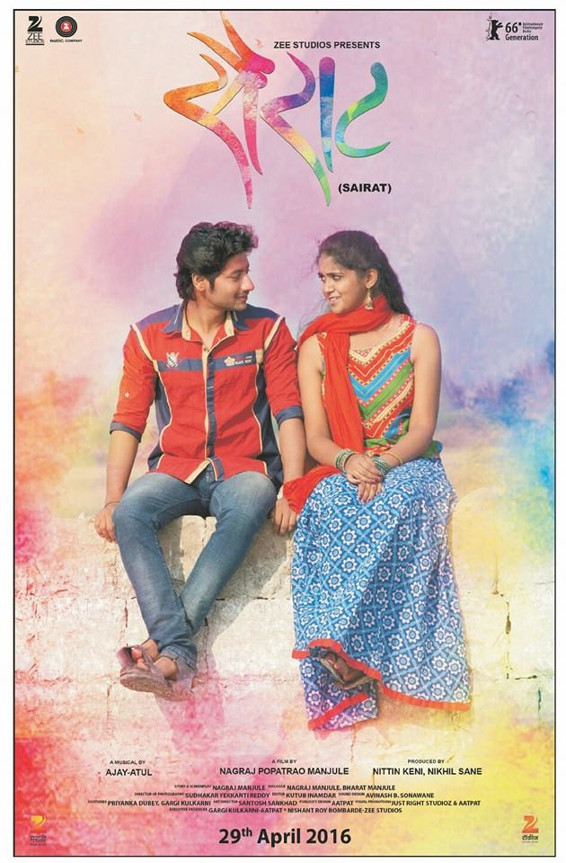 Sairat Marathi Movie Download HD Full Free 2016 720p Bluray thumbnail