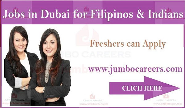 Freshers jobs in Dubai, UAE latest jobs for Indians,