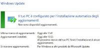 Problemi Windows Update se non scarica o non trova aggiornamenti