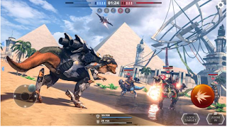 Tải game Jurassic Monster World: Dinosaur War 3D FPS