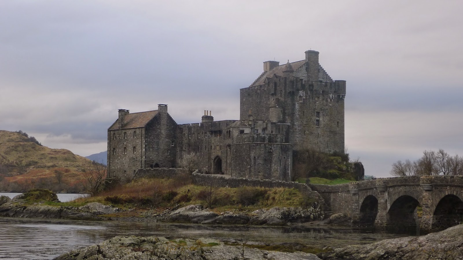 Eilean Donan Castle, Skye and Lochalsh, 29 November 2014
