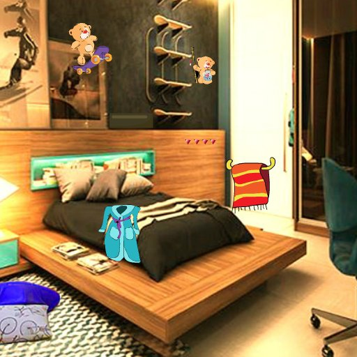 AjazGames Escape Cubicle Bedrooms