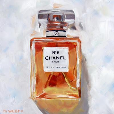 chanel-oil-painting-merrill-weber