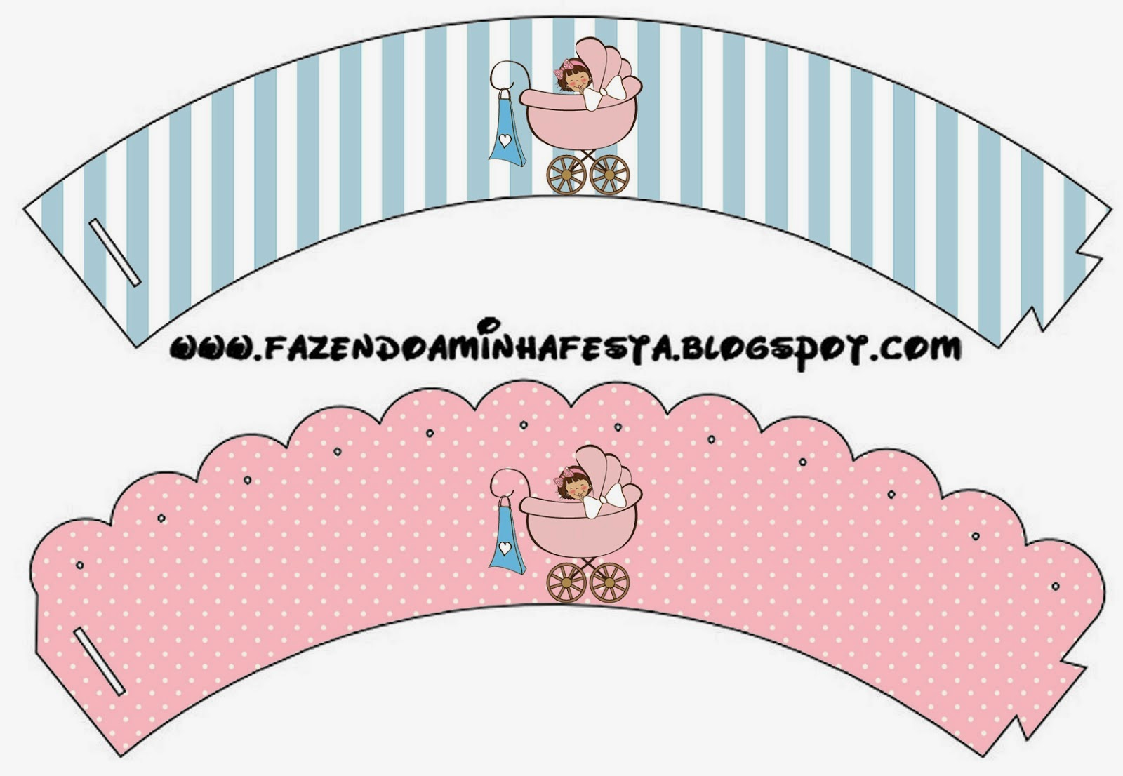 Baby Girl Free Party Printables. | Oh My Fiesta! in english
