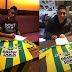 Kruspzky y Moyano firmaron en el Tiburón