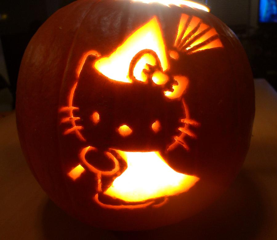 Hello kitty halloween pumpkins forever