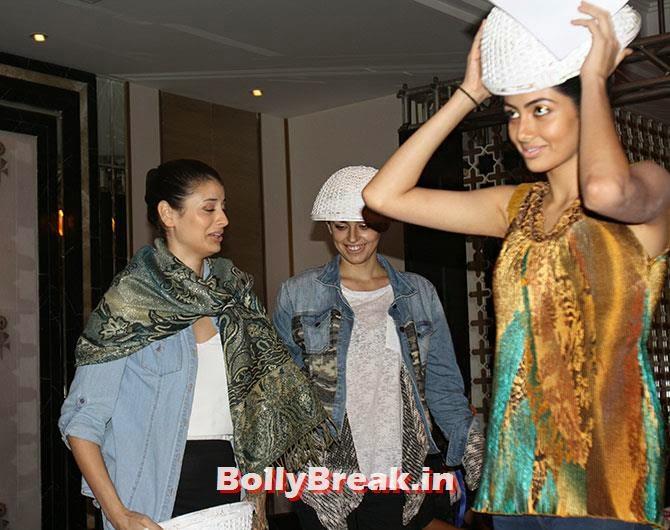 Michelle, Jasenka Bijelic and Nikhila Nandgopal , Hot Models Backstage Pics - Lakme India Fashion Week