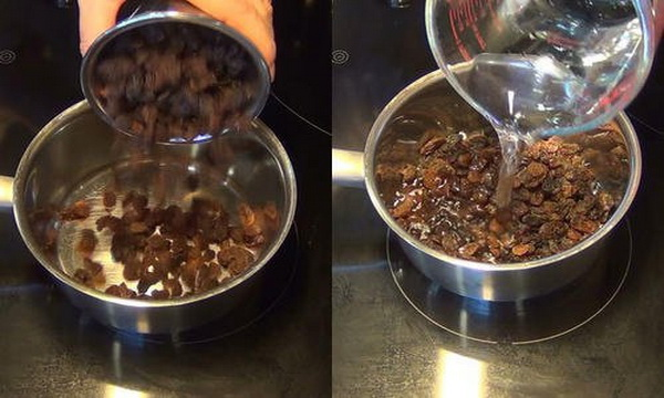 Water Of Raisins In The Morning To Clean The Liver In Only 2 Days