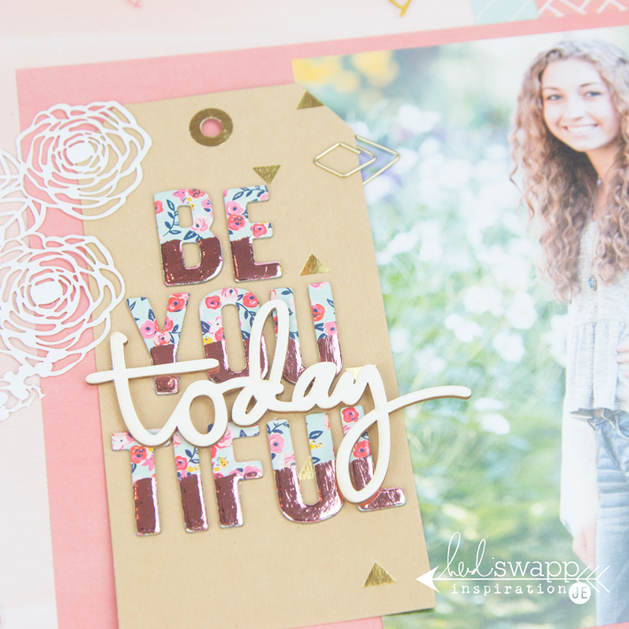 Make your own foiled stickers with @heidiswapp Minc Reactive Paint! by @createoften