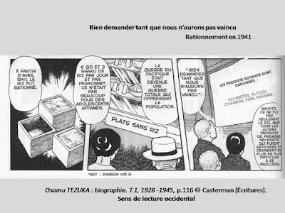 Osamu TEZUKA : biographie. T.1, 1928 -1945, p.116 © Casterman (Écritures)