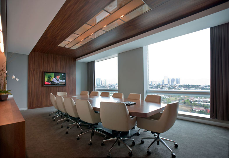 Modern Office Meeting Room