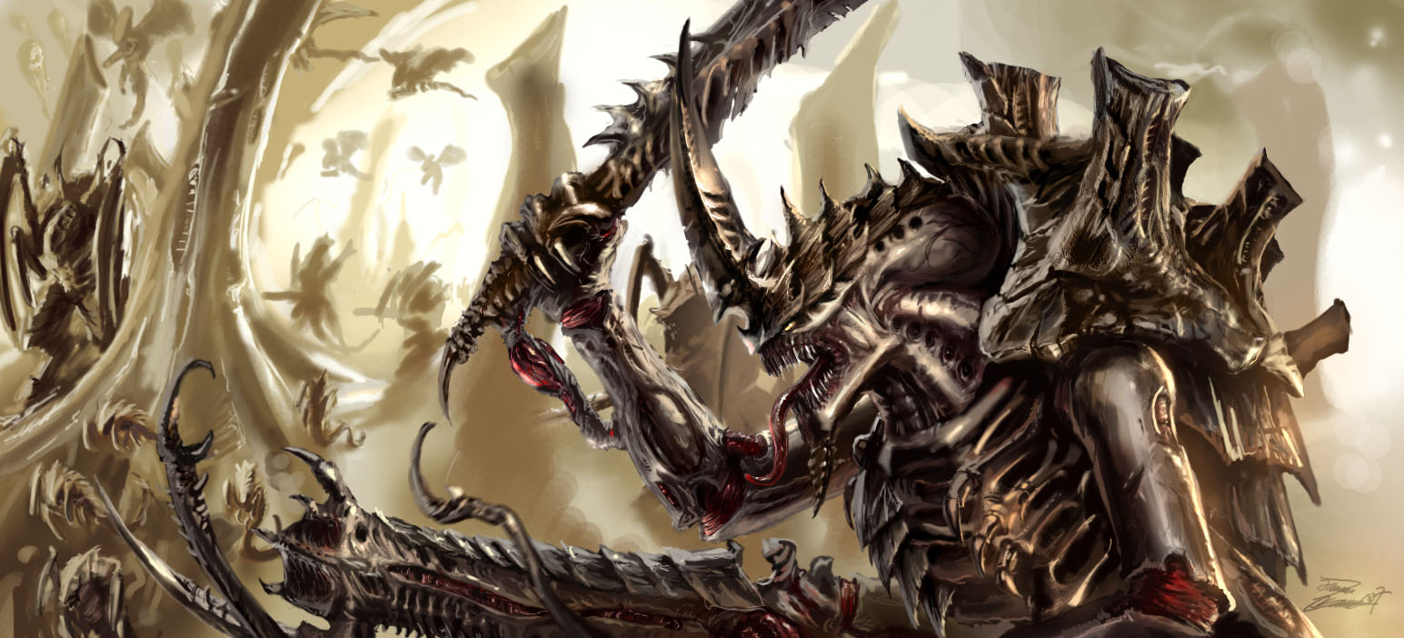 The Back 40K: Tyranid Painting Question