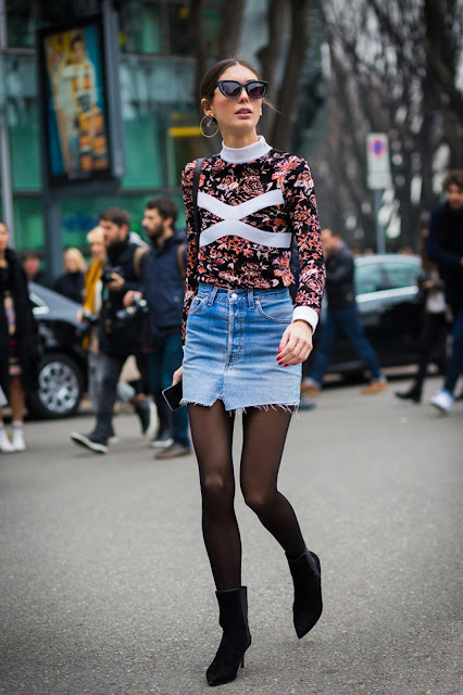 denim skirts, denim mini skirt, vintage levis denim mini, levis 501 , spring 2016 denim trends, street style, patchwork denim, patchwork skirt,