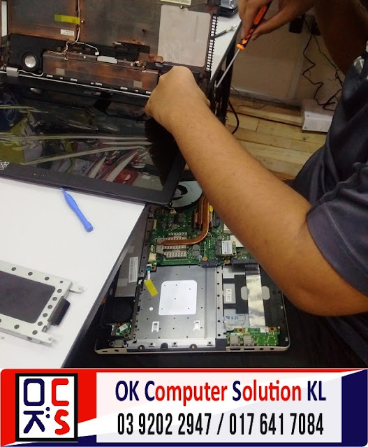 [SOLVED] SKRIN LAPTOP ASUS N56VZ | REPAIR LAPTOP DESA PANDAN 4